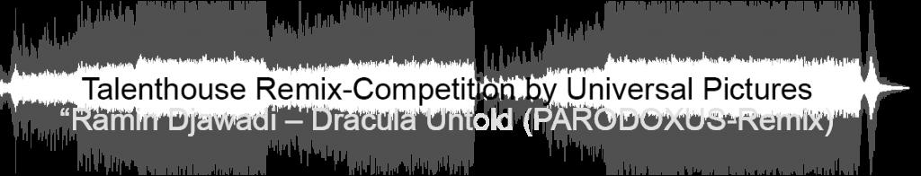 PARODOXUS - Dracula Untold